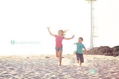 City Beach (mrsm_jones) Tags: boy sunset sea portrait sun sunlight playing beach girl smile canon lens fun outdoors prime gold golden jones sand perfect shoot play outdoor michelle 85mm sunny australia son perth hour western wa mk2 5d sunflare hopwood perfectportrait mmii 5d2 5dmkii 5dmk2 purpleturtlephotography citybeachkidshannahharri