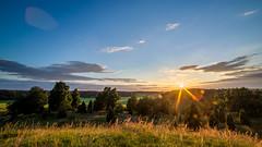 Uppsa Kulle (Joakim Berndes) Tags: sunset sol nature juni canon landscape sweden natur cc creativecommons sverige gps geotag hdr goldenhour landskap samyang 2013 uppsakulle canon6d jberndes joakimberndes