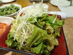 Korean Salad @Renka, Hongqiao, Shanghai (Phreddie) Tags: china friends party japanese restaurant yum shanghai beef bbq meat eat korean barbecue sendoff yakiniku hongqiao doki renka 130628