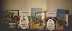 Keep Calm and Shoot Film (Emily Savill) Tags: podcast 120 film analog 35mm canon project polaroid photography sticker exposure shoot fuji kodak grain f1 calm double iso tip vista instant keep multiple fujifilm analogue asa agfa expired 800 126 impossible 2x fpp