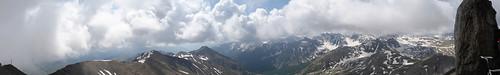 View from Col de la Bonette