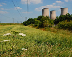 The Demise of Didcot A (Messent) Tags: england countryside poetry electricity didcot powerstation oxfordshire coolingtowers landscapedetail poetryandpicturesinternational poetryforall
