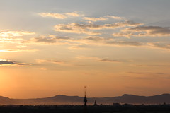 Sunset at Dhamma Ya Zika Pagoda (10b travelling) Tags: sunset temple pagoda asia asien southeastasia burma myanmar asie southeast paya birma templo bagan indochine tempel birmanie 2011 dhammayazika  iptcbasic