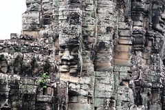 A Forgotton Face (melanie2wright) Tags: world life old history texture beautiful face statue rock stone wonder real temple person moss amazing ancient ruins worship cambodia pattern stones religion melanie ruin culture belief angkorwat carving experience stonesculpture siem reap historical wright siemreap angkor carvings cultural intricate angkorthom wonderoftheworld experiences forgotton melaniewright reallifeexperiences reallifeexperience