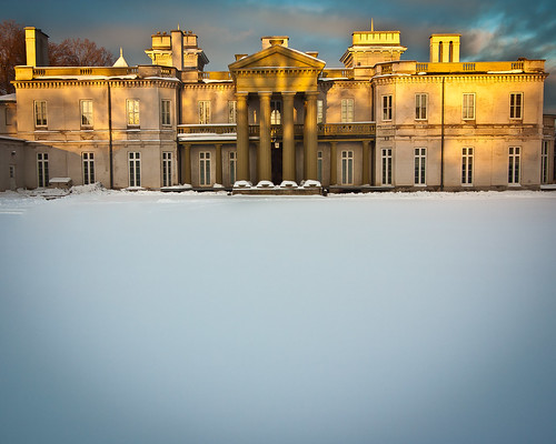 Dundurn Castle After Snowfall