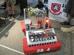 """Team 2994's robot • <a style=""""font-size:0.8em;"""" href=""""http://www.flickr.com/photos/61091961@N06/9656953297/"""" target=""""_blank"""">View on Flickr</a>"""