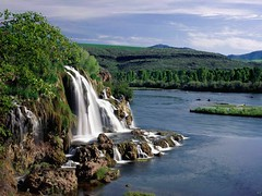 Landscape-Pictures-Creek-Falls-And-Snake-River-Idaho-Wallpapers (vinod_pednekar) Tags:
