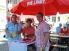 Bundestagswahl-Sommertour in Apolda