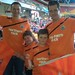 "gaotw0187<br /><span style=""font-size:0.8em;"">The Brisbane Mags; Chris Cuthbert, Benny Mac, Joey White and Jason White (L-R) following the Brisbane Roar v Sydney FC at the Suncorp Stadium, Brisbane, Australia.</span> • <a style=""font-size:0.8em;"" href=""http://www.flickr.com/photos/68478036@N03/9756996966/"" target=""_blank"">View on Flickr</a>"