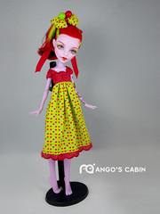 104MH005 (mango20060311) Tags: art monster high doll ooak mango custom repaint