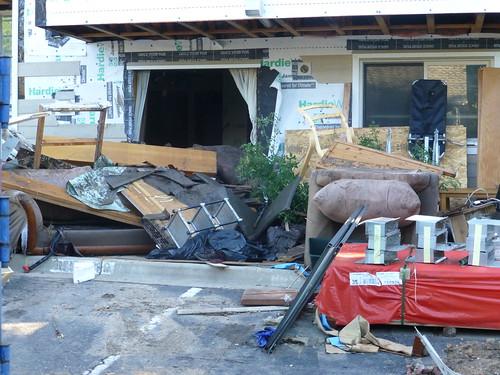 Photo - Boulder Flood Trash and Debris