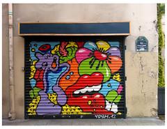 Paris 2013 (Hanoi1933) Tags: street streetart paris france art wall rivedroite magasin streetphotography boutique storefront vitrine parigi devanture rightbank   parisstreetart  2013