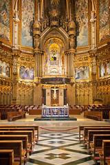 Basilica, Monastery of Montserrat | Catalonia, Spain (Pete Sieger) Tags: religious spain interior basilica catalonia monastery montserrat sacred sieger monestirdemontserrat peterjsieger