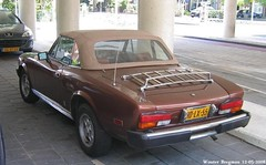 Fiat 124 Spider 1979 (XBXG) Tags: auto old italy classic netherlands car vintage spider italian automobile italia fiat nederland convertible voiture 124 1979 cabrio paysbas ancienne cabriolet fiat124 overveen italienne fiat124spider hdlx55