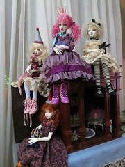 IMG_0908 (chandrasboxofstars) Tags: old boy amy boots body handmade year 15 elf val mari dresses susie wigs hybrid dt pw hyun dollstown