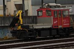SBB Bahndiensttraktor Tm 2/2 III bzw Tm 232 052 - 1 Kari am Bahnhof Bern Wylerfeld bei Bern im Kanton Bern in der Schweiz (chrchr_75) Tags: november train de tren schweiz switzerland suisse suiza swiss eisenbahn railway zug sua locomotive christoph svizzera chemin centralstation sveits fer locomotora tog juna lokomotive lok sviss ferrovia zwitserland sveitsi spoorweg suissa locomotiva lokomotiv ferroviaria  locomotief chrigu  szwajcaria 1311 rautatie   2013 zoug trainen kantonbern  chrchr hurni chrchr75 chriguhurni november2013 chriguhurnibluemailch albumbahnenderschweiz2013712 hurni131128