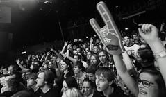 Royal Republic (Brian Krijgsman) Tags: blackandwhite bw film amsterdam rock photography concert nikon photos sweden live gig grain band swedish zwart wit malm scandinavian melkweg soldout warnermusic d4 2013 iso12800 oudezaal briankrijgsman royalrepublic