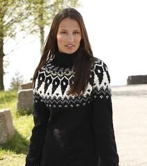 Womens  turtleneck Icelandic wool sweater (Mytwist) Tags: urban woman black sexy wool fashion fetish design drops big nordic turtleneck brunette fabel sweatergirl rollneck