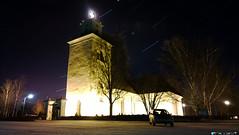 Kaarlela's church under the stars (IceDevil90) Tags: church stone suomi finland stars lights nokia phone cross medieval risti 1020 kirkko kokkola lumia thdet keskiaikainen kaarlelan kaarlelas