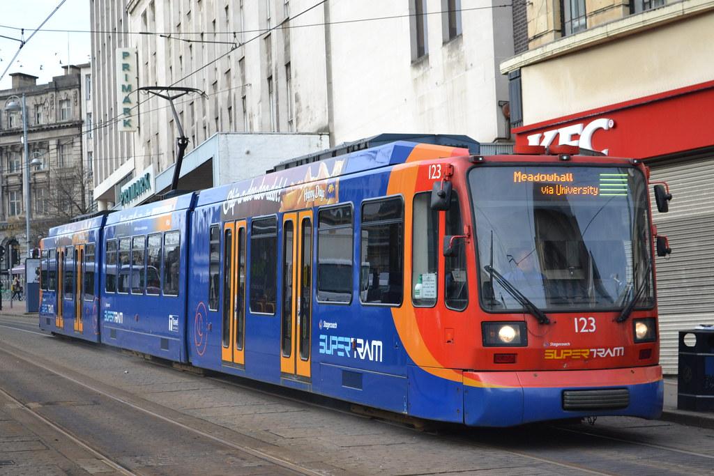 Sheffield Supertram Open Day - YouTube