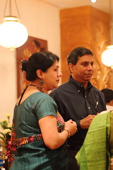 Neela & Ranjan (soumit) Tags: india restaurant december neela sarson ranjan 2013