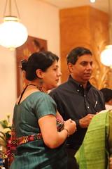 Neela & Ranjan (soumit) Tags: india restaurant december neela sarson ranjan 2013