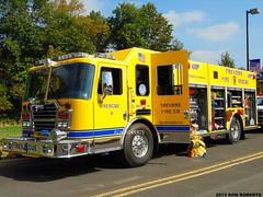 Rescue 4 (Engine 907) Tags: county rescue yellow fire pennsylvania engine firetruck company squad predator bucks kme township pumper trevose bensalem kovatch