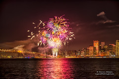 The Grand Finale - San Francisco 2014 (Darvin Atkeson) Tags: show california eve suspension fireworks grand baybridge embarcadero belle newyears finale portofsanfrancisco 2014 darvin darv liquidmoonlightcom lynneal