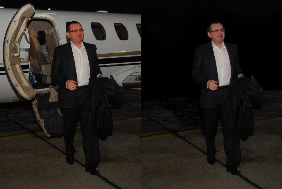 Две версии фото министра сельского хозяйства РФ