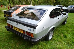 1980 Ford Capri Mark III 3.0S – WCC 534V (Paul D Cheetham) Tags: show old nottingham classic cars ford car 30 museum club capri march village mark iii wcc september classics 11th 9th 1980 tramway 30s mansfield litre v6 crich markiii 2013 534v skhool 2994cc wcc534v
