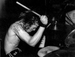 Scream, featuring Dave Grohl on dums, 05.03.1988 in Milano, by Karin Hamster Hagemann