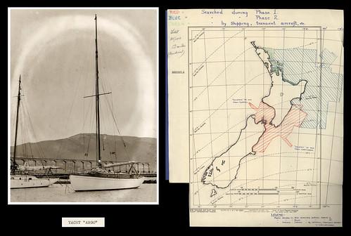 newzealand sailing map photograph wellington archives owhirobay lyttleton rnzaf newzealandhistory archivesnewzealand