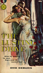 Gold Medal Books 750 - Ovid Demaris - The Lusting Drive (swallace99) Tags: mystery vintage paperback goldmedal suspense