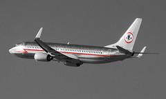 AA Astrojet (George Baritakis) Tags: airplane losangeles aviation boeing lax americanairlines boeing737 baremetal