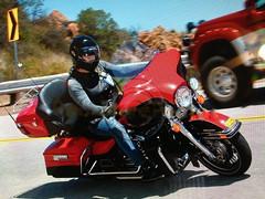 (Lisa 2865) Tags: harley biker chic limited ultra 2010