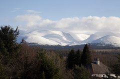 From Aviemore (Gareth Timms) Tags: winter snow mountains clouds scotland railwaystations aviemore scottishhighlands cairngormnationalpark