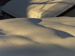 A Question of Balance — Winter 2014 (Paul Henegan) Tags: winter snow rooftops taijitu