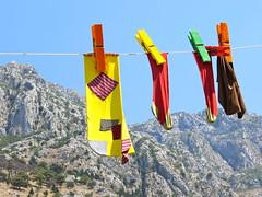 Reuzensokken in Kotor