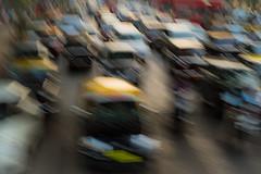 Traffic jam in Mumbai (zimin.dmitry) Tags: auto road street city light urban india motion blur car yellow speed way moving automobile traffic cab taxi transport fast direction transportation bombay vehicle motor rushhour jam mumbai stress crowded