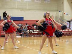 DJT_7061 (David J. Thomas) Tags: sports basketball athletics women cheerleaders arkansas bulldogs scots batesville seniorday benedictineuniversity lyoncollege