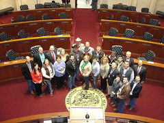 Young Cattlemen at the Senate.