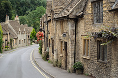 Castle Combe, Cotswolds cottages (iPics Photography) Tags: street old uk houses england house english stone architecture fairytale rural town mainstreet village britain cottage cotswolds limestone british wiltshire quaint picturesque highstreet oldfashioned cottages castlecombe honeycoloured