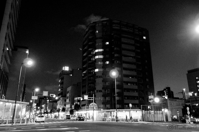 Monochrome NightScene