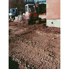 IMG_5060 (yannickchevilleySx) Tags: kubota 5 5t chantier maison individuelle terreal calibric 2017 le fau montauban maçonnerie instasize remblais