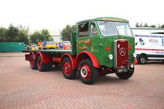 Atkinson Eight Wheel General Haulage IMG_8663 (Frank Hilton.) Tags: classic truck lorry eight wheel maudsley aec atkinson albion leyalnd bristol austin outside heavy haulage crane 8 axle
