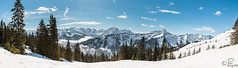 Snow Panorama (Tone colour) Tags: alps austria blue forest landscape light mountain mountains nature panorama shining snow white winter