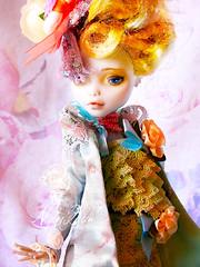 Colors of spring (NylonBleu) Tags: monster high doll mh nylonbleu ooak custo repaint