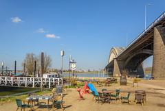 Take a seat (stevefge) Tags: nijmegen waal rivers bridges waalbrug gelderland landscape nederland netherlands nl nederlandvandaag reflectyourworld