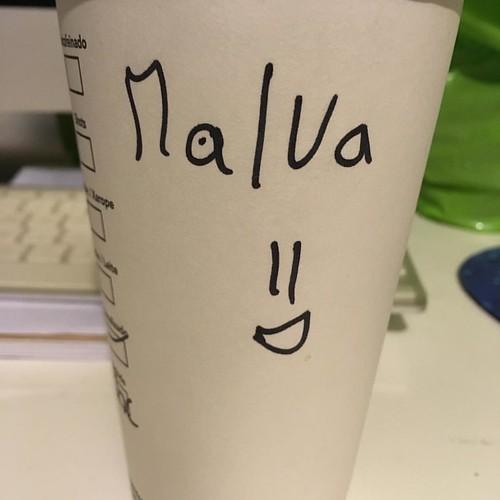 Nuevo nombre a la colección! Será que parezco Malvita? #malva #malvaviscos #starbucks #nuevonombre #marshmallow