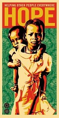 """ Hope For Darfur "" 2007 by Shepard Fairey / Pop Art (lalek72.popart) Tags: shepardfairey artprint popart popartculture poster fineart art popartworld hopefordarfur 2007"
